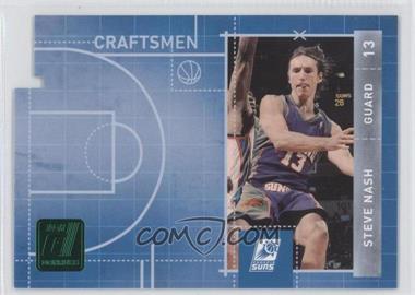 2010-11 Donruss - Craftsmen - Emerald Die-Cut #9 - Steve Nash