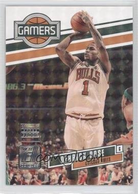 2010-11 Donruss - Gamers - Press Proof #1 - Derrick Rose /100