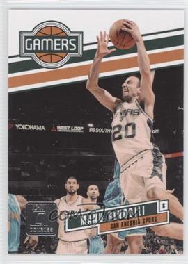2010-11 Donruss - Gamers #15 - Manu Ginobili /999