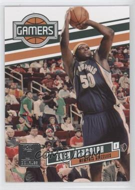 2010-11 Donruss - Gamers #17 - Zach Randolph /999