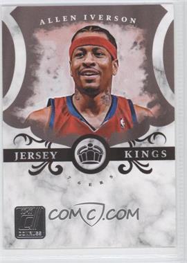 2010-11 Donruss - Jersey Kings #1 - Allen Iverson /999