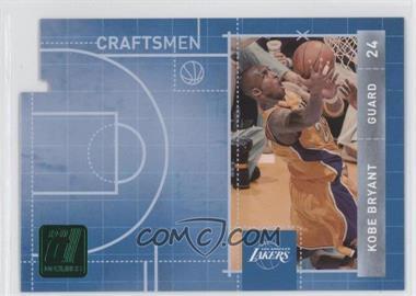 2010-11 Donruss Craftsmen Emerald Die-Cut #1 - Kobe Bryant