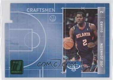 2010-11 Donruss Craftsmen Emerald Die-Cut #12 - Joe Johnson