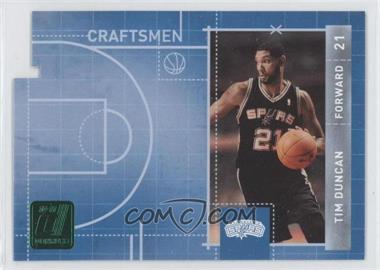 2010-11 Donruss Craftsmen Emerald Die-Cut #15 - Tim Duncan