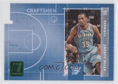 2010-11 Donruss Craftsmen Emerald Die-Cut #2 - Kevin Durant