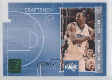 2010-11 Donruss Craftsmen Emerald Die-Cut #4 - Dwight Howard