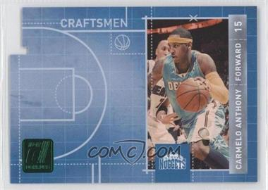 2010-11 Donruss Craftsmen Emerald Die-Cut #5 - Carmelo Anthony