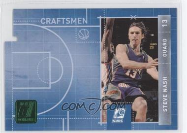 2010-11 Donruss Craftsmen Emerald Die-Cut #9 - Steve Nash