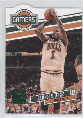 2010-11 Donruss Gamers Emerald Die-Cut #1 - Derrick Rose