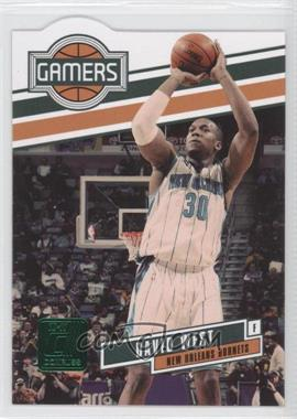 2010-11 Donruss Gamers Emerald Die-Cut #16 - David West
