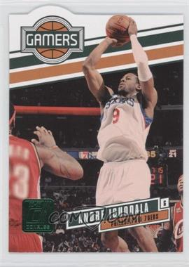 2010-11 Donruss Gamers Emerald Die-Cut #24 - Andre Iguodala