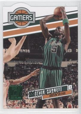 2010-11 Donruss Gamers Emerald Die-Cut #4 - Kevin Garnett