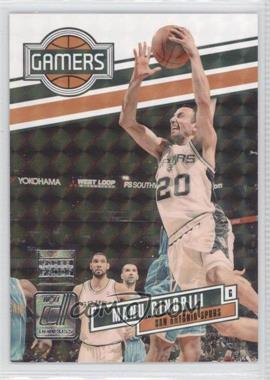 2010-11 Donruss Gamers Press Proof #15 - Manu Ginobili /100