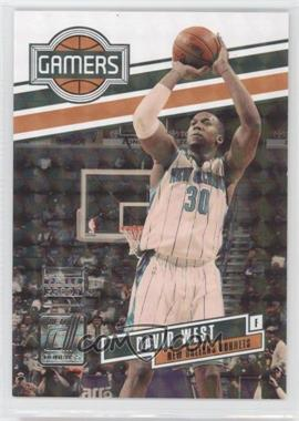 2010-11 Donruss Gamers Press Proof #16 - David West /100