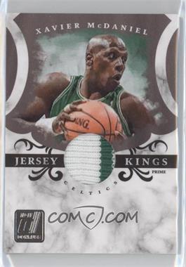 2010-11 Donruss Jersey Kings Materials Prime [Memorabilia] #4 - Xavier McDaniel /49