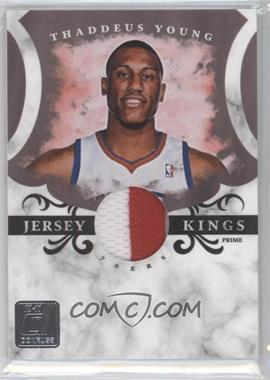 2010-11 Donruss Jersey Kings Materials Prime [Memorabilia] #8 - Thaddeus Young /49