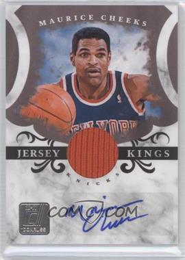 2010-11 Donruss Jersey Kings Materials Signatures [Autographed] [Memorabilia] #13 - Maurice Cheeks /49