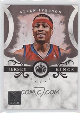 2010-11 Donruss Jersey Kings #1 - Allen Iverson /999