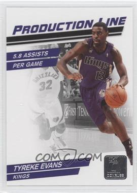 2010-11 Donruss Production Line #56 - Tyreke Evans /999