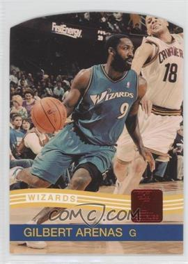2010-11 Donruss Ruby Die-Cut #186 - Gilbert Arenas /25