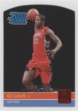 2010-11 Donruss Ruby Die-Cut #240 - Ed Davis /25