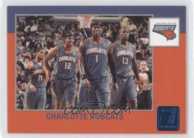 2010-11 Donruss Sapphire Die-Cut #274 - Charlotte Bobcats /49