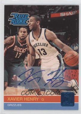 2010-11 Donruss Signatures [Autographed] #239 - Xavier Henry /399