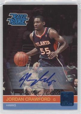 2010-11 Donruss Signatures [Autographed] #254 - Jordan Crawford /499