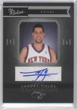 2010-11 Elite Black Box - The Rookies - Signatures [Autographed] #2 - Landry Fields /149