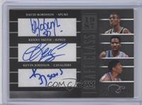 David Robinson, Kevin Johnson, Kenny Smith /25