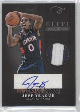 2010-11 Elite Black Box Elite Series Prime Memorabilia Signatures [Autographed] #84 - Jeff Teague /5