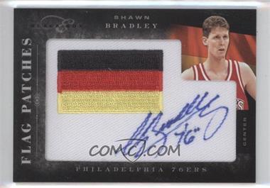 2010-11 Elite Black Box Flag Patches Autographs [Autographed] #15 - Shawn Bradley /149