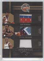 Clyde Drexler, David Robinson, Joe Dumars /99