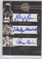 Arnie Risen, Bailey Howell, George Gervin /49