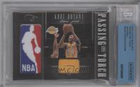 Andre Iguodala, Kobe Bryant /99 [BGS AUTHENTIC]
