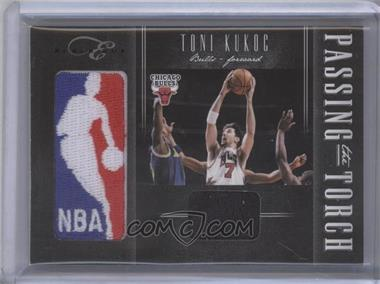 2010-11 Elite Black Box Passing the Torch Memorabilia #38 - Joakim Noah, Toni Kukoc /99