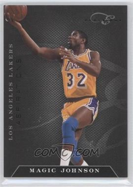2010-11 Elite Black Box Status Aspirations #137 - Magic Johnson /5