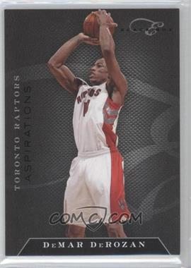 2010-11 Elite Black Box Status Aspirations #63 - DeMar DeRozan /5