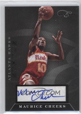 2010-11 Elite Black Box Status Signatures [Autographed] #174 - Maurice Cheeks /149
