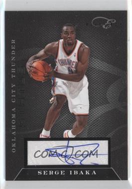 2010-11 Elite Black Box Status Signatures [Autographed] #35 - Serge Ibaka /149