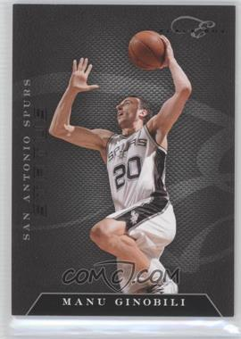 2010-11 Elite Black Box Status #80 - Manu Ginobili /99
