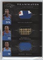 Russell Westbrook, Kevin Durant, Serge Ibaka /1