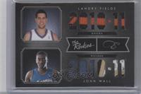 John Wall, Landry Fields /25