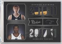 Derrick Favors, Gordon Hayward /25