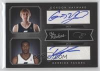Gordon Hayward, Derrick Favors /49