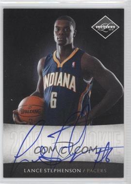2010-11 Limited - Next Day Autographs - [Autographed] #3 - Lance Stephenson /99