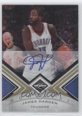 2010-11 Limited Gold Monikers [Autographed] #80 - James Harden /99