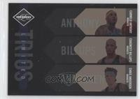 Carmelo Anthony, Chauncey Billups, Chris Andersen /149