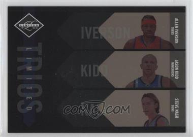 2010-11 Limited Limited Trios #4 - Allen Iverson, Jason Kidd, Steve Nash /149