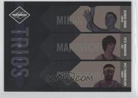 George Mikan, Pete Maravich, Wilt Chamberlain /149